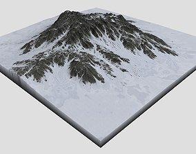 3D Snowy Mountain MTT07