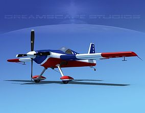 Extra Flugzeugbau EA300S V04 3D animated