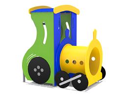 3D model Mini Train Playground