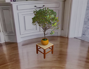 3D printable model 3D model The tree on a chair