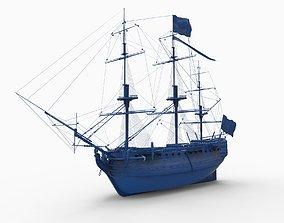 3D printable model HMS VICTORY 1765