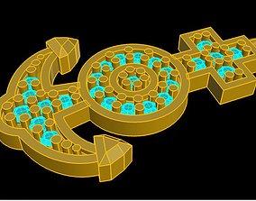 ring CHARM 3D printable model