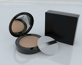 3D Cosmetic Foundation Powder with Cushion Puff and