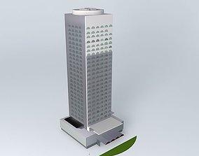 3D model CHATEAU CHAMPLAIN A MONTREAL