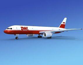 Boeing 757-200 DHL Cargo 3D