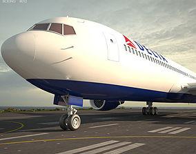 3D model Boeing 767-300