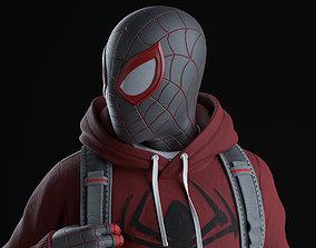 3D printable model Spider-Man Miles Morales - Statue