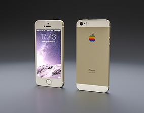IPHONE 5S iphone 3D model VR / AR ready