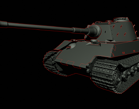 Panzerkampfwagen King Tiger 2 3D printable model