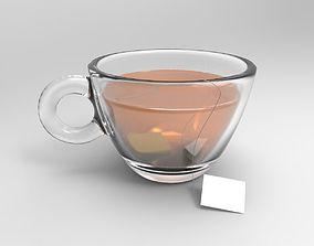 3D model a cup of tea