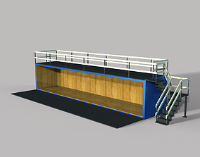 Concept Container Cafe 3D model