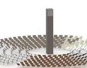 Solar CSP 3D