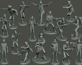 Dancing coffin meme B Pack 3D printable model