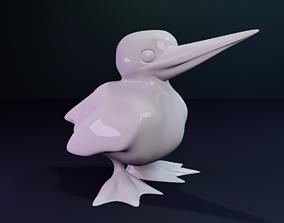 3D print model Kingfisher Figurine