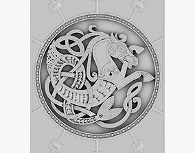 Celtic Ornament 21 3D