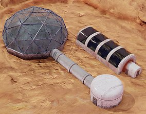 Mars base - Mars farm 3D