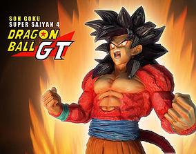 SUPER SAIYAN 4 SON GOKU 3D