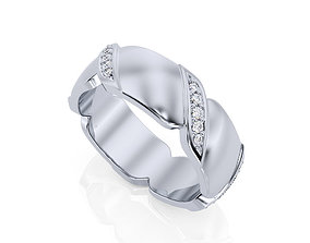 3D printable model Ring Band R BA 0011