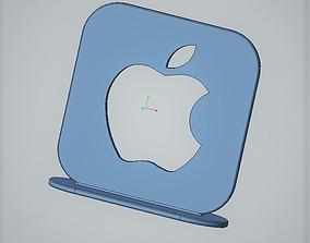 3D print model Apple logo desk