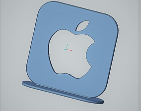 3D print model Apple logo desk