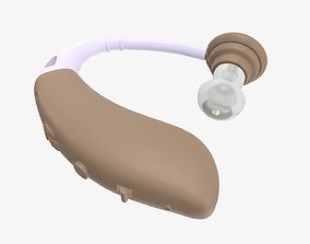 Personal hearing amplifier 3D model