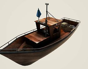 3D model Norwegian fishing boat