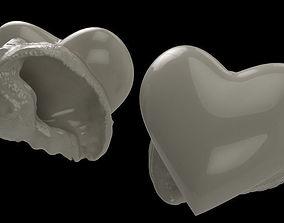 Heart - Hermit crab shell 3D print model