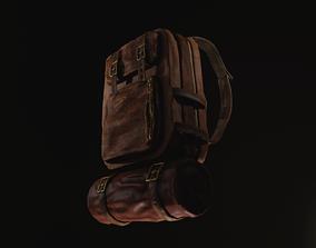 Backpack 3D model realtime PBR