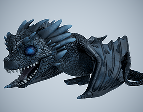 Viserion Game of Thrones Drake 3D asset