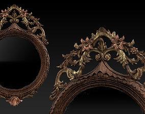 Antique Mirror - PBR other 3D model