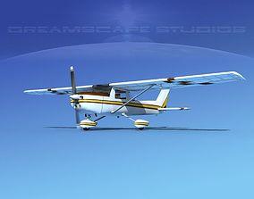 Cessna C152 Aerobat V09 3D model