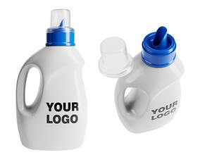 3D PBR Laundry Detergent Bottle