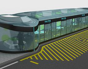 3D asset Bus Stop design