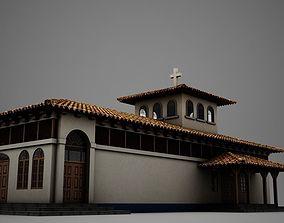 3D High Def Latin Church
