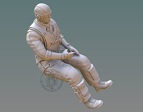 3D printable model US NAVY PILOT