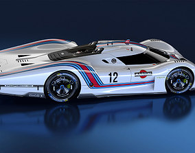 porsche 908-4 prototype 3D printable model