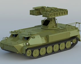 9K35 Strela-10 SA-13 Gopher 3D model