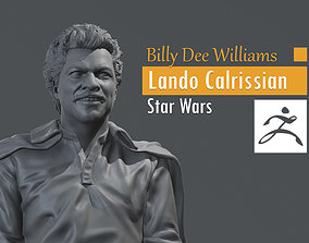 Billy Dee Williams - Lando Calrissian 3D printable model 2
