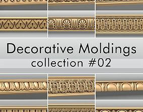 Decorative Moldings collection 02 3D model