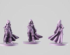 3D print model girl thief