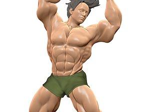 Body Builder Statue N 10 3D print 3D model