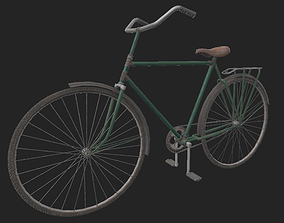3D asset City Bicycle