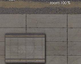 3D model Aerial texture 303
