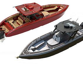 Motorboats 3D