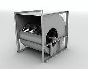 Industrial Fan 3D asset VR / AR ready