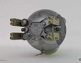 Modification of the Oblivion drone 166-2 3D asset