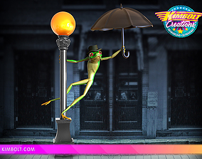 3D printable model Froggin the Rain