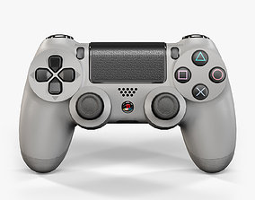 3D model Sony PlayStation 4 Controller Grey 20th 1