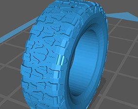 3D printable model Nitto Mud Grappler Tire scale 1-10