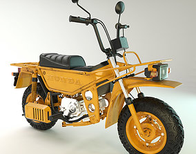 Honda Motra 1982 Minibike 3D